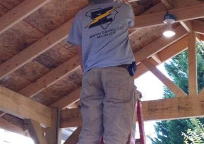 Starnes Electric LLC Electricians, installing light